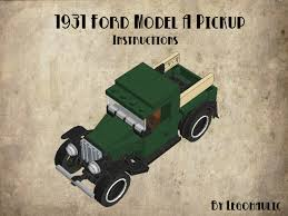 lego army jeep instruction tutorial u2013 ford a pickup lego brickmafia