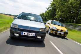 old renault old vs new the renault clio through four generations pictures