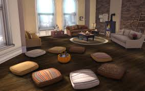excellent huge floor pillow seating on interior design ideas with