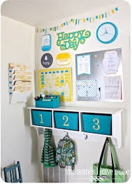 Wall Calendar Organizer System Family Command Center Ideas Organizing Family Schedules