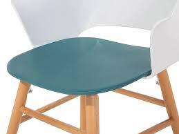 siege plastique chaise design siège en plastique bleu et blanc boston