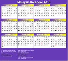Kalender 2018 Hari Raya Puasa 2018 Calendar Malaysia 2018 Calendar Printable