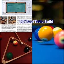 build a pool table diy pool table build free plans the homestead survival