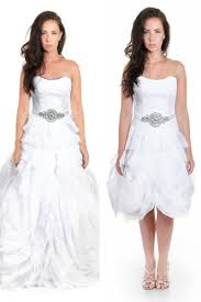 two in one convertible wedding dress u2013 sophia v