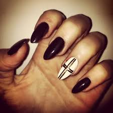 pointed nail design image collections nail art designs