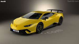 Lamborghini Huracan 2013 - 360 view of lamborghini huracan performante 2017 3d model hum3d