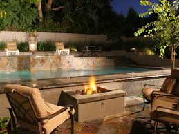 Pergola With Fire Pit by Triyae Com U003d Backyard With Pool And Firepit Various Design