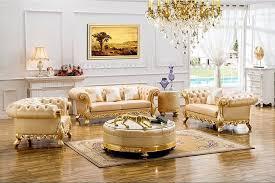 Royal Furniture Living Room Sets Throne Sofa Furniture Royal Furniture Danxueya Factory Carved
