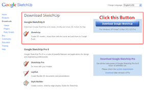sketchup download how to download google sketchup for free