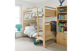 Dayton Bunk Bed In Maple Modern Kids Furniture Room  Board - Room and board bunk bed
