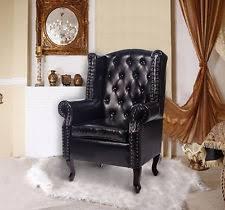 high back armchair ebay