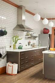 kitchen backsplash with light brown cabinets 33 subway tile backsplashes stylish subway tile ideas for