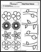 math worksheets patterns