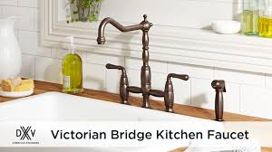 Bridge Kitchen Faucet Victorian Bridge Kitchen Faucet By Dxv Youtube