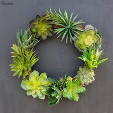 succulent wreath diy succulent wreath easy tutorial darice