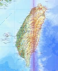 Physical Maps Taiwan Physical Map U2022 Mapsof Net