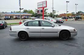 2001 chevrolet impala silver used sedan car sale