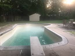 Blue Haven Pools Tulsa by Major Backyard Pool Reno Project Planning Getting Started