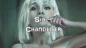 Lyrics Of Chandelier By Sia Sia Chandelier Acoustic Cover Lyrics Karaoke Youtube