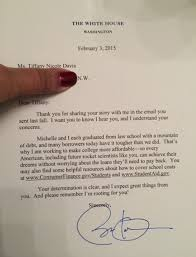 what happened when i wrote a letter to president obama hint he