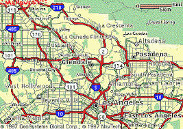 pasadena ca map local maps burbank glendale pasadena ca posted by
