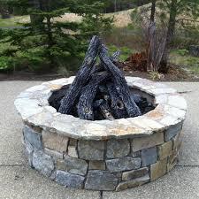 lava rocks for fire pit firegear sedona 19 piece fire pit log set logs only burner not