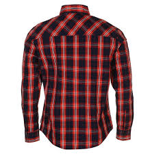 cooper cooper sleeve check shirt mens mens shirts