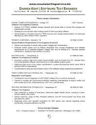 resume sample for experienced software developer university