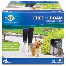 petsafe free to roam wireless fence radiofence com