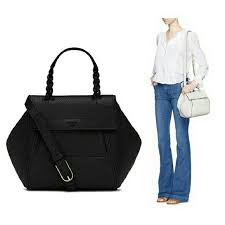 48 burch handbags burch half moon small satchel
