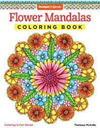 nature mandalas coloring book design originals thaneeya mcardle