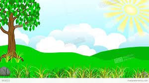 house animated animated children s album house with a lawn stock animation