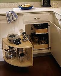 blind corner kitchen cabinet inserts similar to what i want but instead of a front swing out it