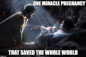 Christmas Miracle Meme - image tagged in merry christmas happy birthday jesus imgflip