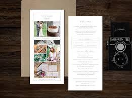 photographer rack card template flyer templates creative market