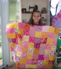 how to make an easy pieced or patch work quilt information on