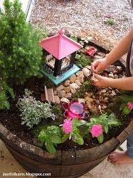 just folk art making our very own fairy garden part 1