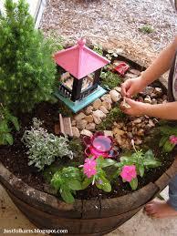 Ideas For A Fairy Garden by Just Folk Art Making Our Very Own Fairy Garden Part 1
