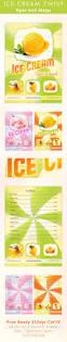 20 best ice cream u0026coffee flyer images on pinterest flyer design