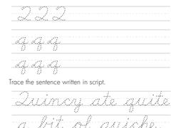 cursive worksheets u0026 free printables education com