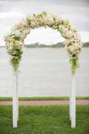 wedding flowers ideas natural simple arch wedding flowers