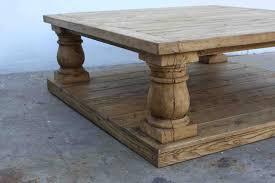 vintage square coffee table furniture exciting image of square postobello curved legs reclaimed