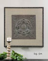 uttermost filandari stamped metal wall art accessories