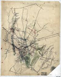 Gettysburg Map Civil War Cartography Then And Now Library Of Congress Blog