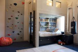 Single Bed Designs For Boys Bedroom Modern Blue Basketball Theme Boy Bedroom Decoration Using