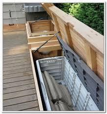 Patio Cushion Storage Outdoor Corner Bench Treenovation
