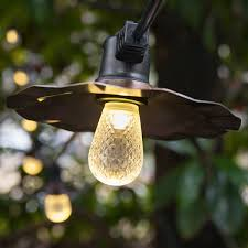 Patio String Lighting by Decorative Patio String Lights Yard Envy