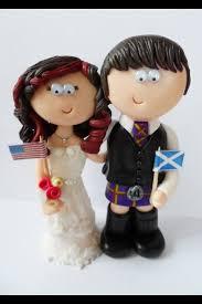 45 best scottish bride u0026 groom wedding cake toppers images on