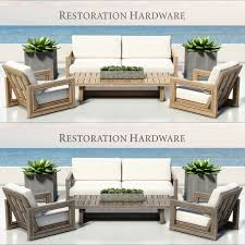 Restore Wicker Patio Furniture - restoration hardware costa collection 3d model