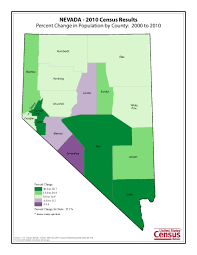 State Of Nevada Map by Census 2010 News U S Census Bureau Delivers Nevada U0027s 2010